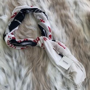 🛍5/$20🛍 Sperry Red White & Blue Boat Shoe Scarf